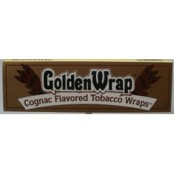 Bibułki GOLDEN WRAP COGNAC