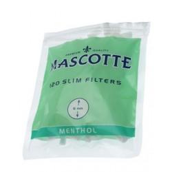 Filtry MASCOTTE MENTHOL SLIM 6mm