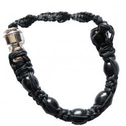 Fajka BRANSOLETKA czarna - 30 cm