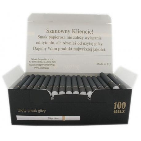 Gilzy ZŁOTY SMOK 100 - czarne