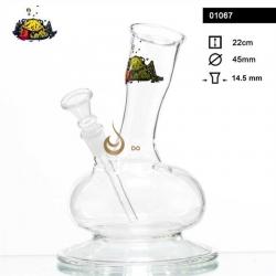 Fajka wodna szklana (1067) - 22 cm.