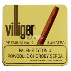 Cygaretki VILLIGER PREMIUM No 10 SUMATRA  (10)