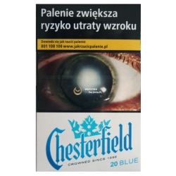 CHESTERFIELD BLUE