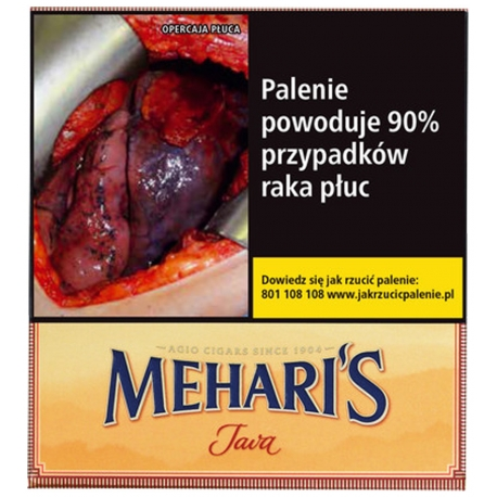 Cygaretki MEHARIS JAVA (10)