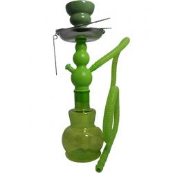 Fajka wodna SHISHA zielona - 27 cm
