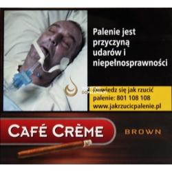 Cygaretki CAFE CREME BROWN (10)
