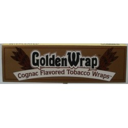 Bibułki GOLDEN WRAP COGNAC