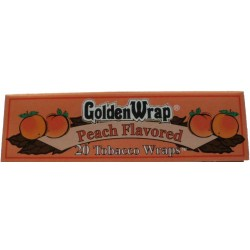 Bibułki GOLDEN WRAP PEACH