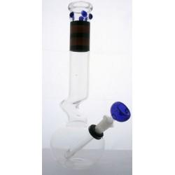 fajka wodna szklana - 30 cm