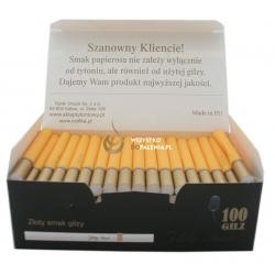 Gilzy ZŁOTY SMOK 100 - żółte