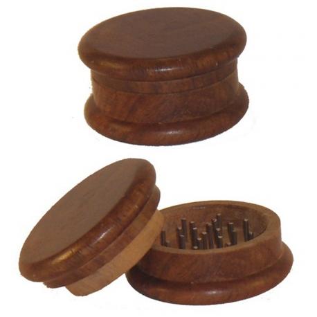 Młynek do tytoniu, drewniany