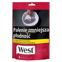 Tytoń WEST RED 100g.