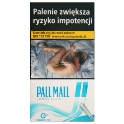 PALL MALL LONGS FLOW BRIGHT BLUE