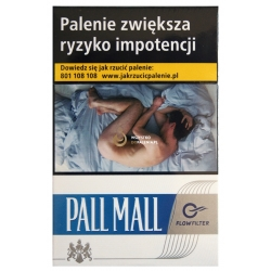 PALL MALL FLOW 20 BLUE