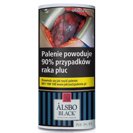 Tytoń ALSBO BLACK 50g.