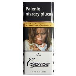 CIGARONNE SUPER SLIMS WHITE (20)