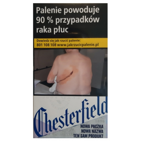 CHESTERFIELD LINEA BLUE SUPERSLIMS