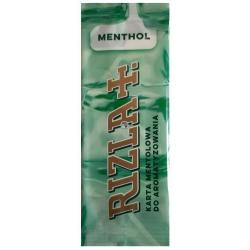 Karta do aromatyzowania RIZLA + MENTHOL