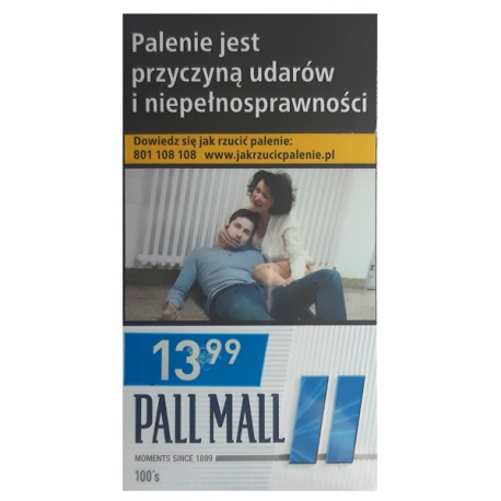 PALL MALL BLUE 100