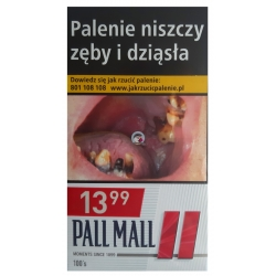 PALL MALL RED 100