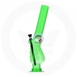 Fajka BONGO HANGOVER GREEN 36cm akrylowa