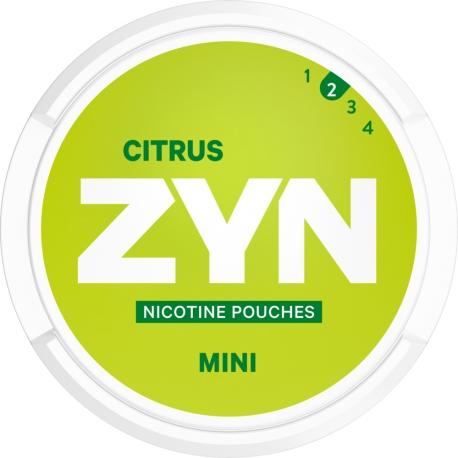 Woreczki nikotynowe ZYN MINI CITRUS 3mg