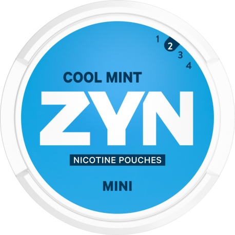 Woreczki nikotynowe ZYN MINI COOL MINT 3mg