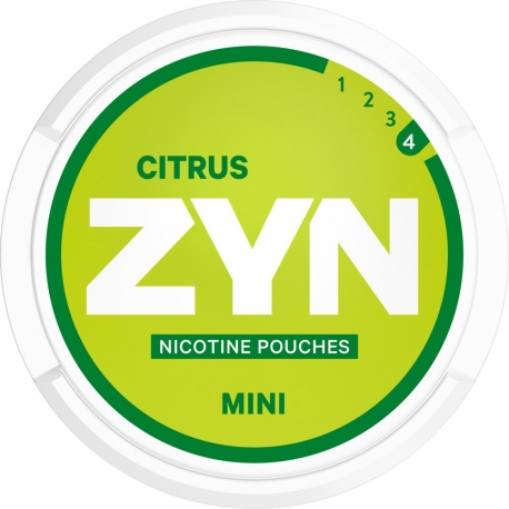 Woreczki nikotynowe ZYN MINI CITRUS 6mg