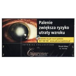CIGARONNE ROYAL SLIMS BLACK (20)