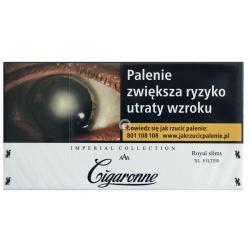 CIGARONNE ROYAL SLIMS WHITE (20)