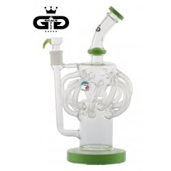 Fajka wodna BONGO GRACE GLASS ULTRA RYCLER GREEN  (GG - 093) - 32 cm